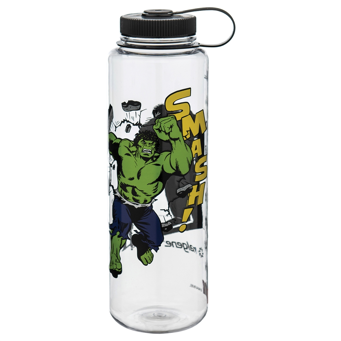 55b49c6d57 Buy Nalgene 48 Ounce Wide Mouth Water Bottle Silo Marvel Hulk Clear ...