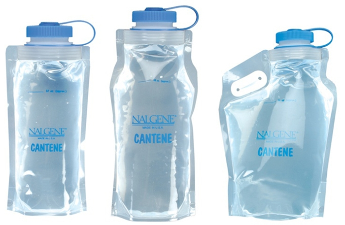 Nalgene Wide-Mouth Cantene Collapsible Water Bottle