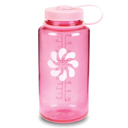 Nalgene 32 Ounce Wide Mouth Water Bottle Pink