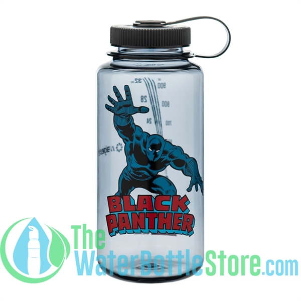 Nalgene 32 Ounce Black Panther Wide Mouth Water Bottle