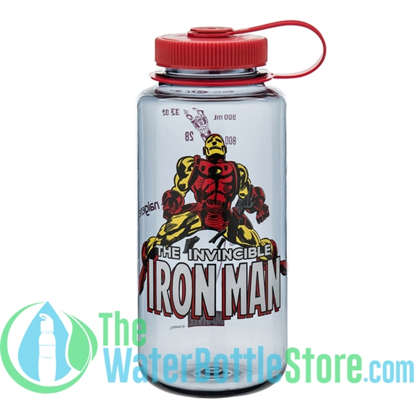 Nalgene 32 Ounce Iron Man Wide Mouth Water Bottle