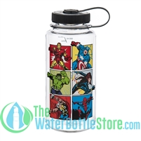 Nalgene 32 Ounce The Avengers Marvel Heroes Wide Mouth Water Bottle
