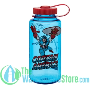 Nalgene 32 Ounce Captain America Wide Mouth Water Bottle