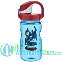 Nalgene 12 Ounce On The Fly Spider-man Wide Mouth Water Bottle For Kids
