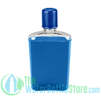 Nalgene 10 Ounce blue Flask with Blue Cap