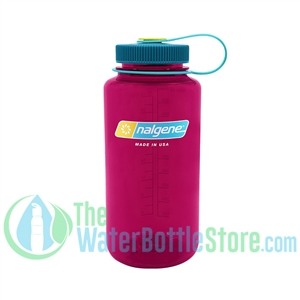 Nalgene 32 Ounce Wide Mouth Water Bottle Eggplant