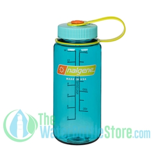 Nalgene 16 Ounce Wide Mouth Water Bottle Cerulean