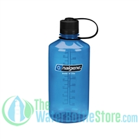 Nalgene 32 Ounce Narrow Mouth Water Bottle Tritan Slate