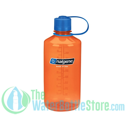 Nalgene 32 Ounce Narrow Mouth Water Bottle Orange