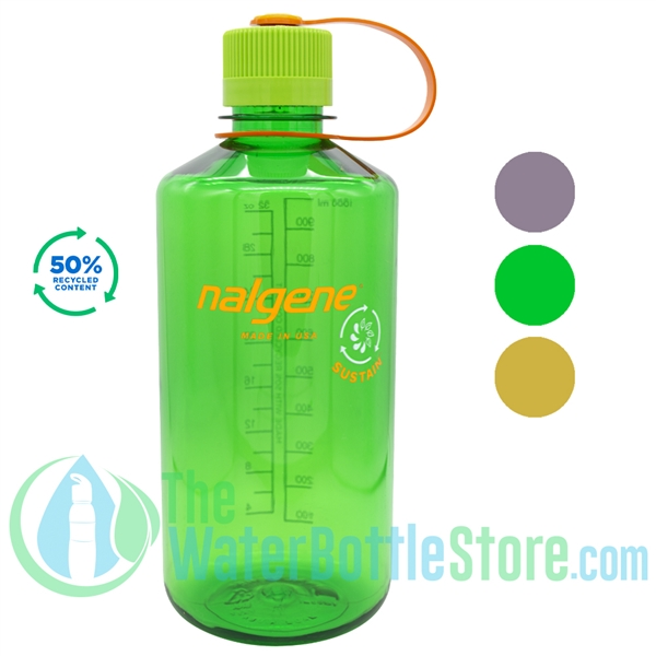 Nalgene 32 Ounce Narrow Mouth Sustain Water Bottle