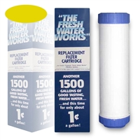 New Wave Enviro Fresh Water Works Replacement Cartridge