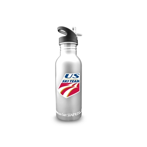 New Wave Enviro 600mL Stainless Steel USSA Ski Team Water Bottle