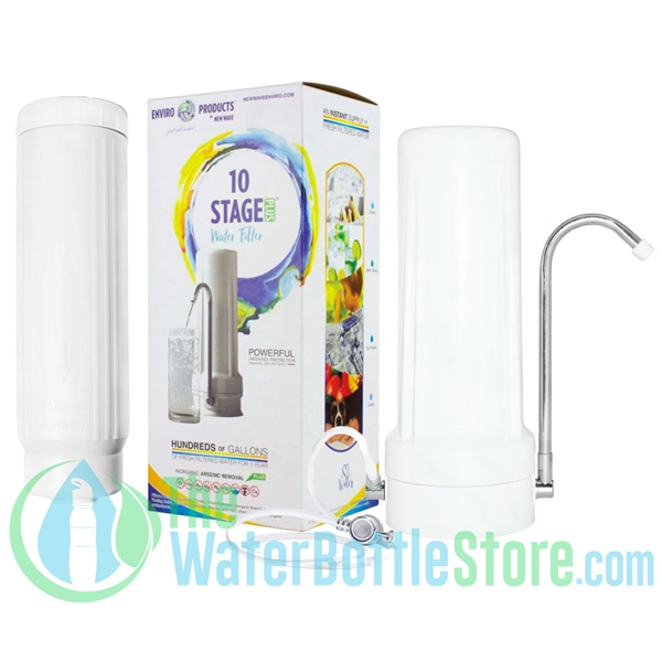 Premium 10-Stage Countertop Water Filter System New Wave Enviro