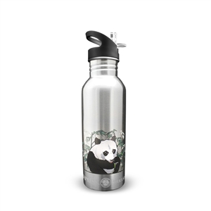 New Wave Enviro 20oz Stainless Steel Designer Floral Water Bottle
