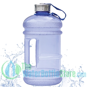 64 oz water bottle blue BPA Free water bottle by New Wave Enviro