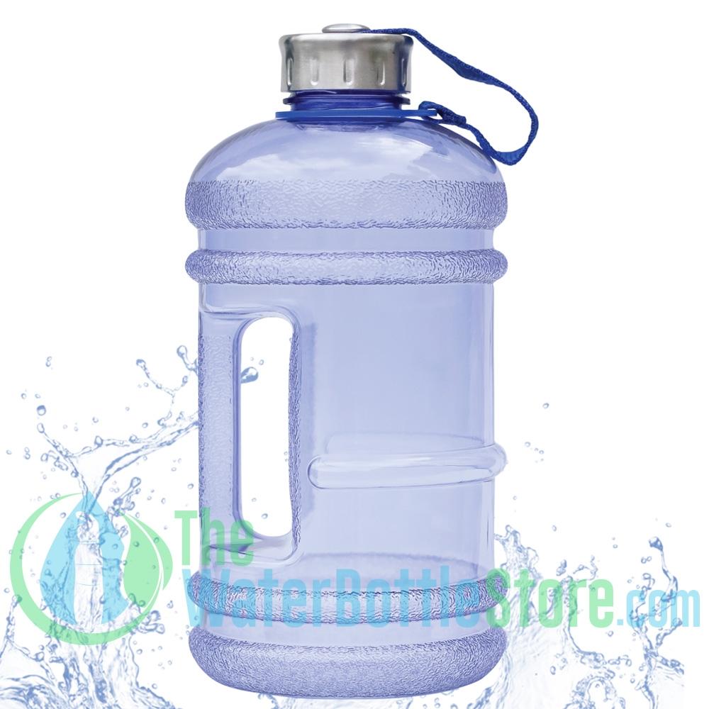b4dc19283a9b 2.2L / 74oz BpA Free Blue Water Bottle by New Wave Enviro