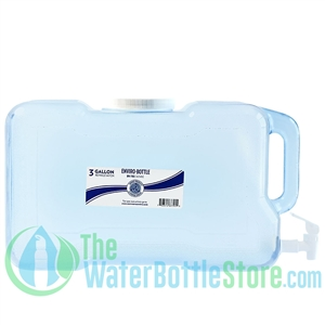 New Wave Enviro 3 Gallon BPA Free Refrigerator Water Bottle with Handle and Spigot