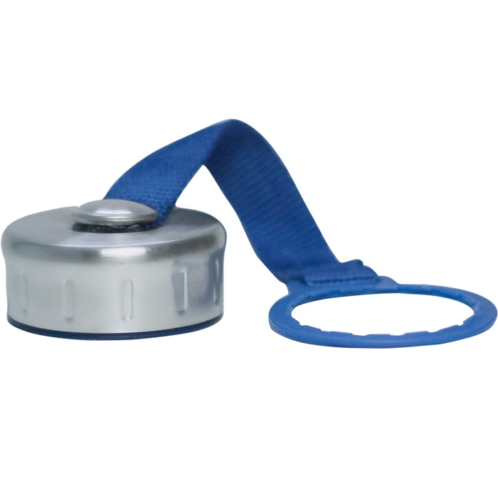 stainless steel replacement cap with strap for new wave enviro 22l 1l 1gallon