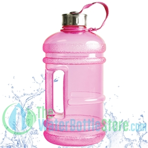 64 oz rose pink water bottle BPA Free water bottle New Wave Enviro