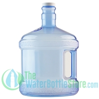 2 gallon round stubby bpa free water bottle new wave enviro