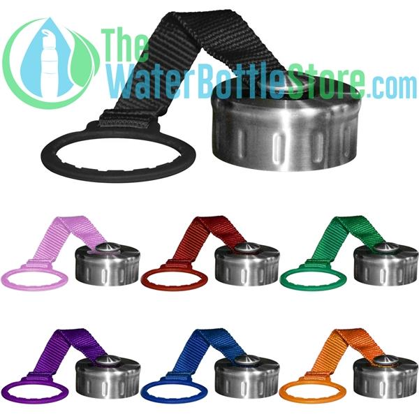48mm Stainless Steel Replacement Cap top with Strap  Water Bottle