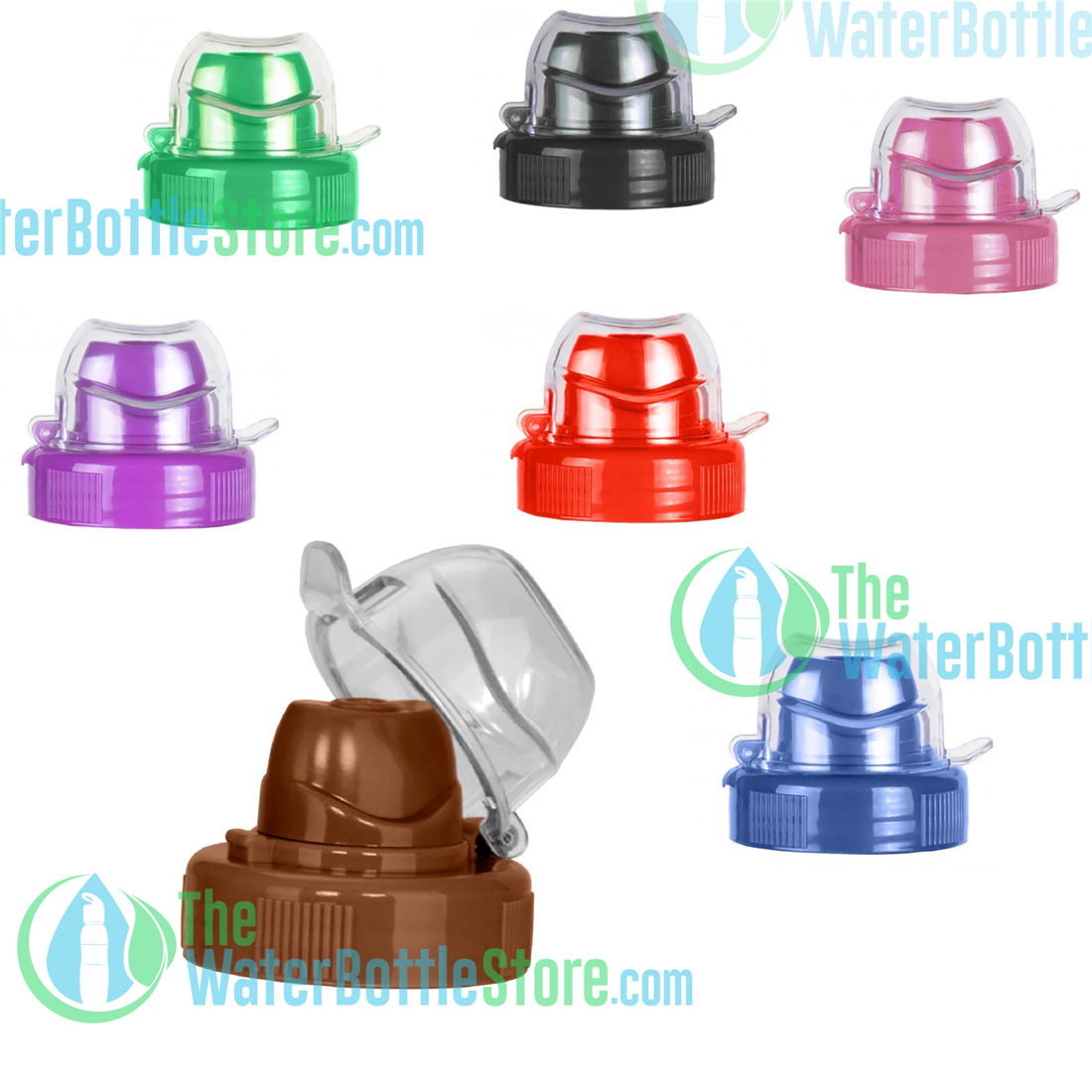 b5f961db97 48mm Sports Replacement Caps Tops for Reusable Water Bottles |  TheWaterBottleStore.com