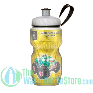 Polar 12 oz Kids Monster Truck Insulated Water Bottle