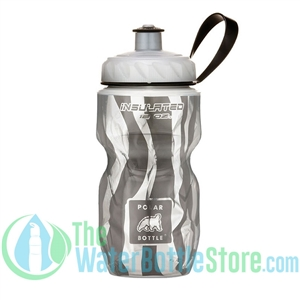 Polar 12 oz zebra Insulated Water Bottle