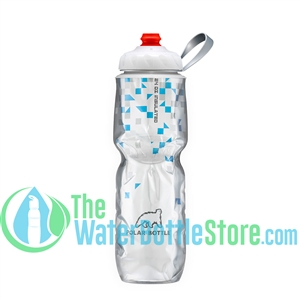 Polar 24 oz Blue ZipStream® BreakAway® Insulated Water Bottle