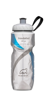 Polar 20 oz Insulated Water Bottle Racing Stripe