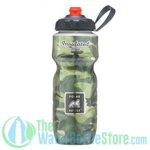 Polar 20 oz Bottle Sport Insulated Water Bottle Camo