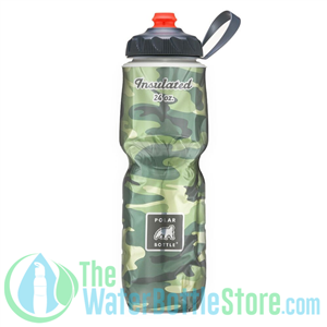 Polar 24 oz Bottle Sport Insulated Water Bottle Camo