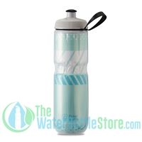 Polar 24 oz Insulated Water Bottle Sport Tempo Mint White