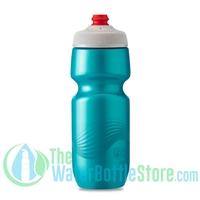 Polar 24 oz Breakaway Wave Water Bottle Teal Silver