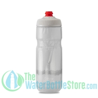 Polar 20 oz Insulated Water Bottle Breakaway Ridge White Silver