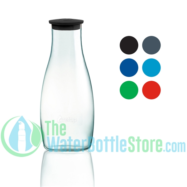 ReTap Carafe 42 oz / 1.2 Liter Borosilicate Glass Bottle