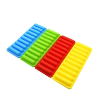 water bottle silicone ice cube trays thin small