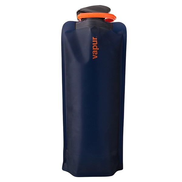 Vapur Eclipse 1 Liter (32oz) Collapsible Reusable Water Bottle - Night blue