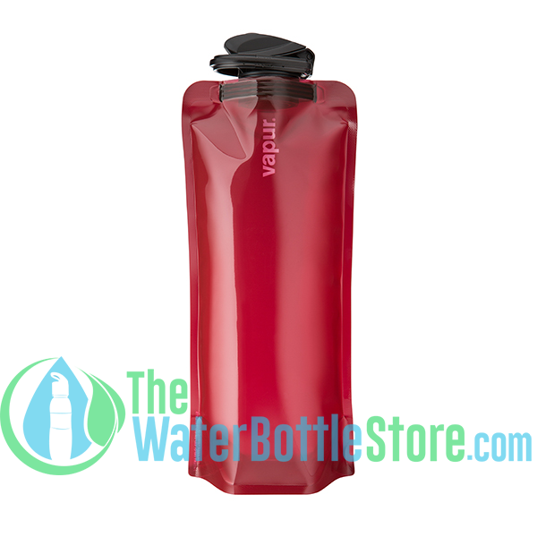 Vapur Eclipse 1 Liter (32oz) Collapsible Reusable Water Bottle - Burgundy