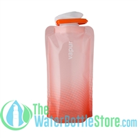 Vapur Rose Quartz .500ml 16oz Collapsible Reusable Water Bottle