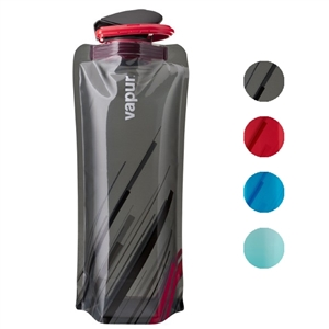 Vapur Wide Mouth .7 Liter 23oz Collapsible Reusable Water Bottle
