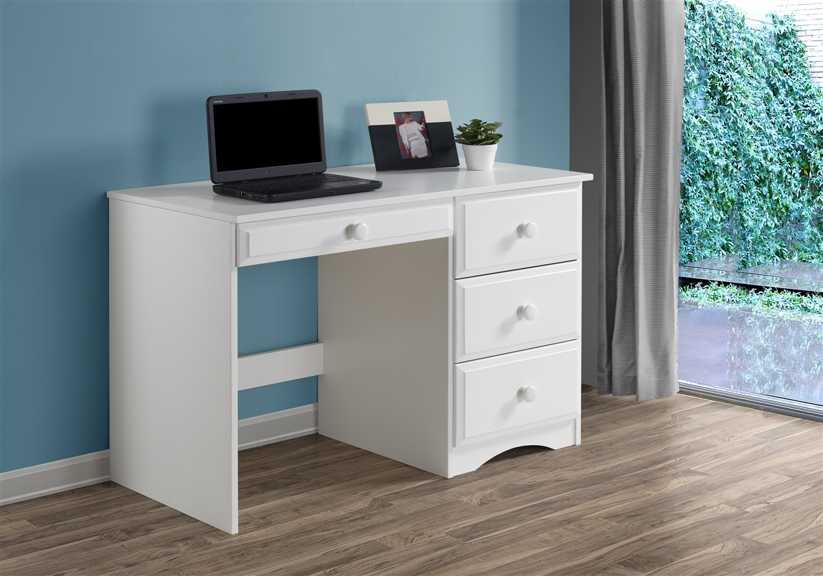 white style with modern product today glass writing home overstock shipping drawers free desk office drawer computer garden glossy contemporary