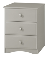 Essentials Three Drawer Narrow Chest