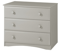 Essentials Three Drawer Dresser