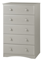 Essentials Five Drawer Chest