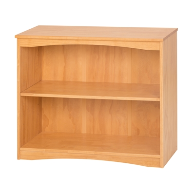 "Camaflexi Essentials Wooden Bookcase 36"" Wide - Natural Finish"