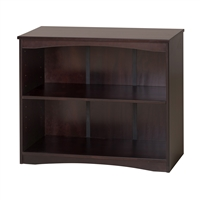 "Camaflexi Essentials Wooden Bookcase 36"" Wide - Cappuccino Finish"