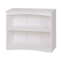 "Camaflexi Essentials Wooden Bookcase 36"" Wide - White Finish"