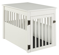 Ruffluv Pet Crate End Table