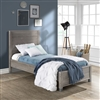 Platform Twin Bed Grey